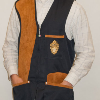 Men's Navy Shooting Vest