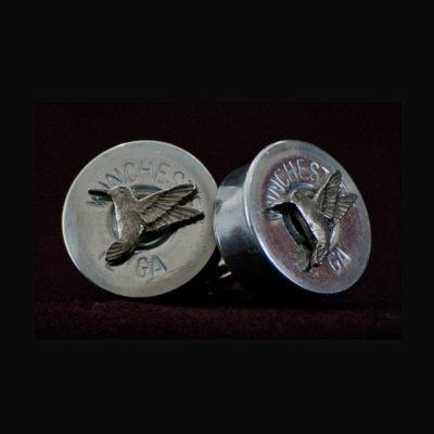 12 Gauge Winchester Shell Cufflinks