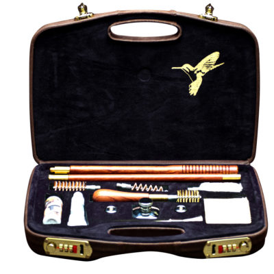 20 Gauge Leather Shotgun Cleaning Kit