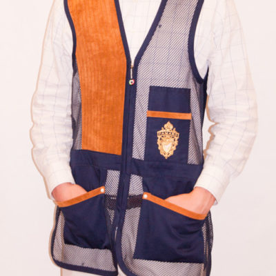 Men's Mesh Shooting Vest with Recoil Pad