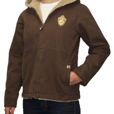Women's Canvas Sherpa Lined Jacket