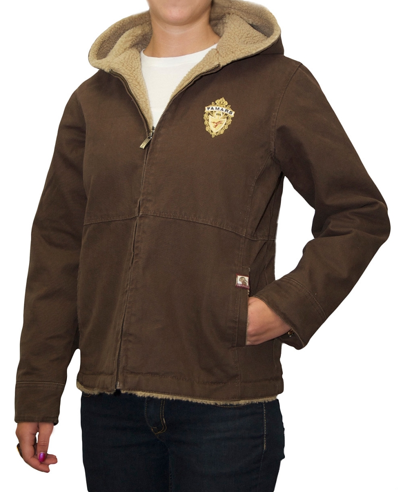 Women's Canvas Sherpa Lined Jacket