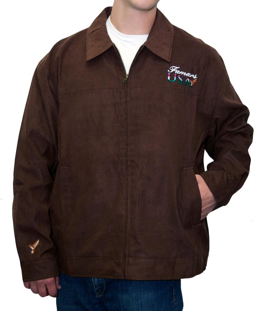 Men's Micro-Suede Jacket