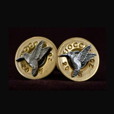 20 gauge Fiocchi Shell Cufflinks
